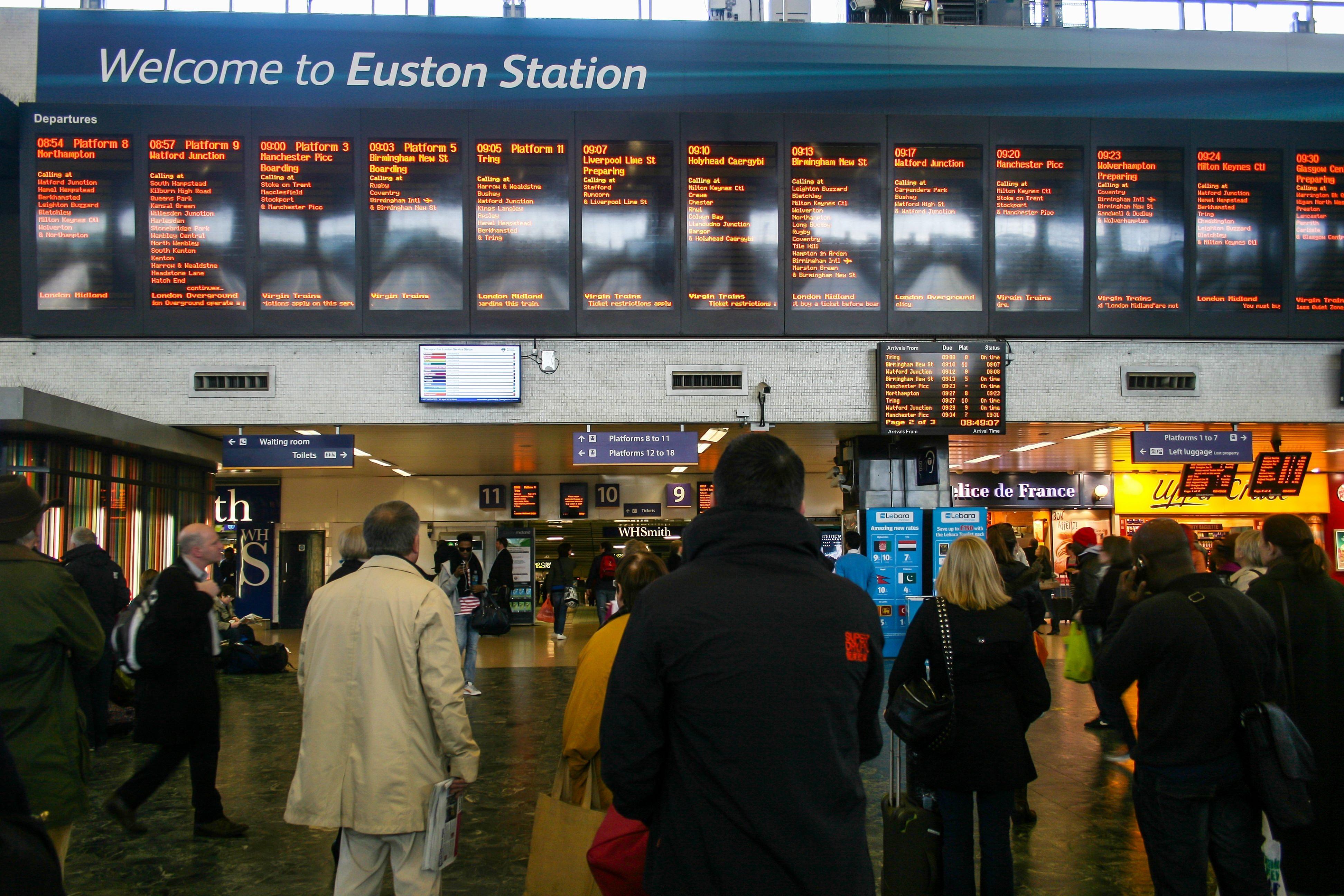 HS2 preparation work to take place at Euston station - Rail UK