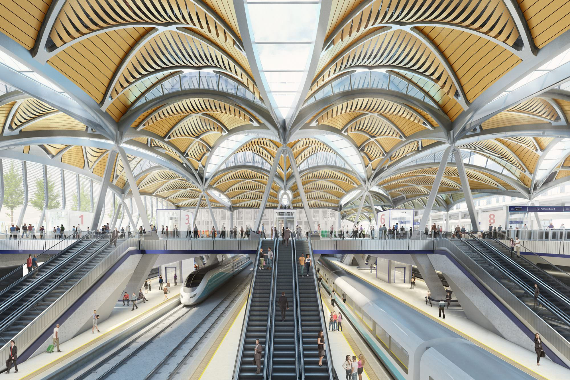 HS2 launches procurement competition for London station works - Rail UK