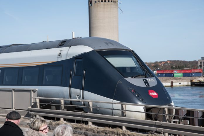 A stock photo of a DSB IC4 train. Photo: Gestur Gislason.